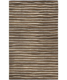 RugStudio presents Martha Stewart By Safavieh Msr3619 Hand Drawn Stripe B Hand-Tufted, Good Quality Area Rug