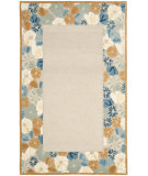 RugStudio presents Martha Stewart By Safavieh Msr3629 Poppy Border B Hand-Tufted, Good Quality Area Rug
