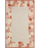 RugStudio presents Rugstudio Sample Sale 66482R Poppy Border C Hand-Tufted, Good Quality Area Rug