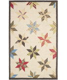 RugStudio presents Martha Stewart By Safavieh Msr3751 Lemoyne Star B Hand-Tufted, Good Quality Area Rug