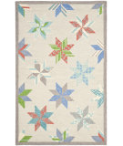 RugStudio presents Martha Stewart By Safavieh Msr3751 Lemoyne Star C Hand-Tufted, Good Quality Area Rug