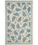 RugStudio presents Martha Stewart By Safavieh Msr3753 Fern Frolic A Hand-Tufted, Good Quality Area Rug