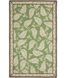 RugStudio presents Martha Stewart By Safavieh Msr3753 Fern Frolic B Hand-Tufted, Good Quality Area Rug