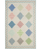 RugStudio presents Martha Stewart By Safavieh Msr3755 Patchwork Hand-Tufted, Good Quality Area Rug