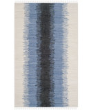 RugStudio presents Safavieh Montauk Mtk710a Grey / Black Woven Area Rug