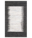 RugStudio presents Safavieh Montauk Mtk711h Ivory / Black Woven Area Rug