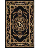 RugStudio presents Safavieh Naples Na516b Black Hand-Tufted, Good Quality Area Rug