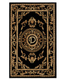 RugStudio presents Safavieh Naples NA516D Black Hand-Tufted, Good Quality Area Rug