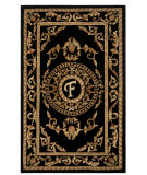 RugStudio presents Safavieh Naples NA516F Black Hand-Tufted, Good Quality Area Rug
