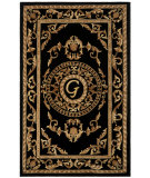 RugStudio presents Safavieh Naples NA516G Black Hand-Tufted, Good Quality Area Rug