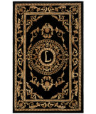 RugStudio presents Safavieh Naples NA516L Black Hand-Tufted, Good Quality Area Rug
