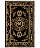 RugStudio presents Safavieh Naples NA516M Black Hand-Tufted, Good Quality Area Rug