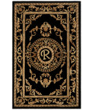 RugStudio presents Safavieh Naples NA516R Black Hand-Tufted, Good Quality Area Rug