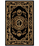RugStudio presents Safavieh Naples NA516T Black Hand-Tufted, Good Quality Area Rug