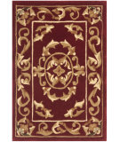 RugStudio presents Safavieh Naples NA517B Burgundy Hand-Tufted, Good Quality Area Rug