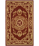 RugStudio presents Safavieh Naples NA519H Burgundy Hand-Tufted, Good Quality Area Rug