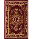 RugStudio presents Safavieh Naples NA519L Burgundy Hand-Tufted, Good Quality Area Rug