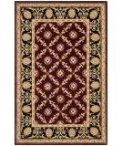 RugStudio presents Safavieh Naples NA521B Burgundy / Black Hand-Tufted, Best Quality Area Rug
