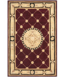 RugStudio presents Safavieh Naples NA523A Burgundy / Ivory Area Rug