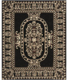 RugStudio presents Safavieh Naples Na851a Black Hand-Tufted, Good Quality Area Rug