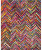 RugStudio presents Safavieh Nantucket NAN141A Pink / Multi Area Rug
