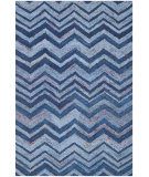RugStudio presents Safavieh Nantucket Nan145a Blue / Multi Hand-Hooked Area Rug