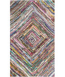 RugStudio presents Safavieh Nantucket Nan513a Multi Hand-Tufted, Better Quality Area Rug