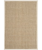 RugStudio presents Safavieh Natural Fiber Nf114j Natural / Ivory Woven Area Rug