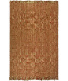 RugStudio presents Safavieh Natural Fiber NF445A Rust Sisal/Seagrass/Jute Area Rug