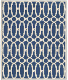 RugStudio presents Safavieh Newport Npt434c Royal Blue / White Hand-Hooked Area Rug