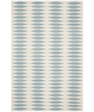 RugStudio presents Safavieh Navajo Kilim NVK179A Ivory / Blue Area Rug