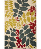 RugStudio presents Safavieh Newbury Nwb8698 Ivory / Blue Machine Woven, Good Quality Area Rug