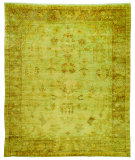 RugStudio presents Safavieh Oushak OSH112A Soft Green / Rust Area Rug