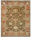 RugStudio presents Safavieh Oushak OSH115A Brown / Rust Hand-Knotted, Best Quality Area Rug