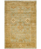 RugStudio presents Safavieh Oushak OSH115C Dark Green / Brown Hand-Knotted, Best Quality Area Rug