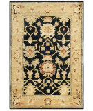 RugStudio presents Safavieh Oushak OSH115D Black / Light Gold Area Rug