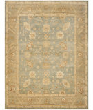 RugStudio presents Safavieh Oushak OSH124A Light Blue / Beige Hand-Knotted, Good Quality Area Rug