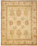 RugStudio presents Safavieh Oushak OSH126A Ivory / Ivory Hand-Knotted, Good Quality Area Rug