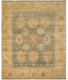 RugStudio presents Safavieh Oushak OSH126B Grey / Gold Hand-Knotted, Good Quality Area Rug