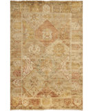 RugStudio presents Safavieh Oushak OSH561A Gold / Brown Hand-Knotted, Good Quality Area Rug