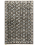 RugStudio presents Safavieh Oushak OSH711C Charcoal Hand-Knotted, Good Quality Area Rug