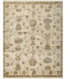 RugStudio presents Safavieh Oushak OSH751A Ivory / Blue Hand-Knotted, Good Quality Area Rug