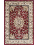 RugStudio presents Safavieh Persian Garden Peg605a Red - Ivory Machine Woven, Better Quality Area Rug