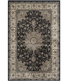 RugStudio presents Safavieh Persian Garden Peg605b Black - Ivory Machine Woven, Good Quality Area Rug
