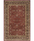 RugStudio presents Safavieh Persian Garden Peg606r Red - Brown Machine Woven, Better Quality Area Rug