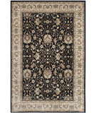 RugStudio presents Safavieh Persian Garden Peg607b Black - Ivory Machine Woven, Better Quality Area Rug