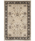 RugStudio presents Safavieh Persian Garden Peg607d Ivory - Black Machine Woven, Better Quality Area Rug