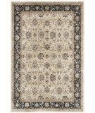 RugStudio presents Safavieh Persian Garden Peg608d Ivory - Black Machine Woven, Better Quality Area Rug