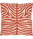 RugStudio presents Safavieh Pillows Easton Orange Sunburst