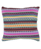 RugStudio presents Safavieh Pillows Mckenzie Chocolate Burst